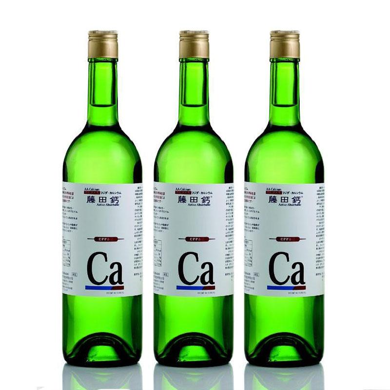 AA Calcium 藤田鈣液劑 買二送一 750ml*3