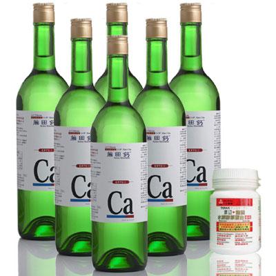 藤田鈣液劑買4送2(加送渡邊膠原蛋白)